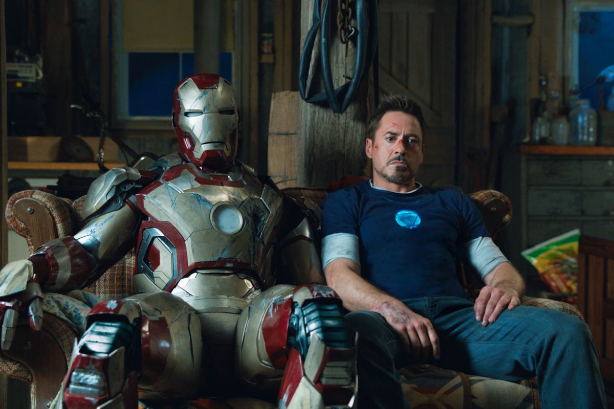 Tony Stark's legacy included a lot of suits.