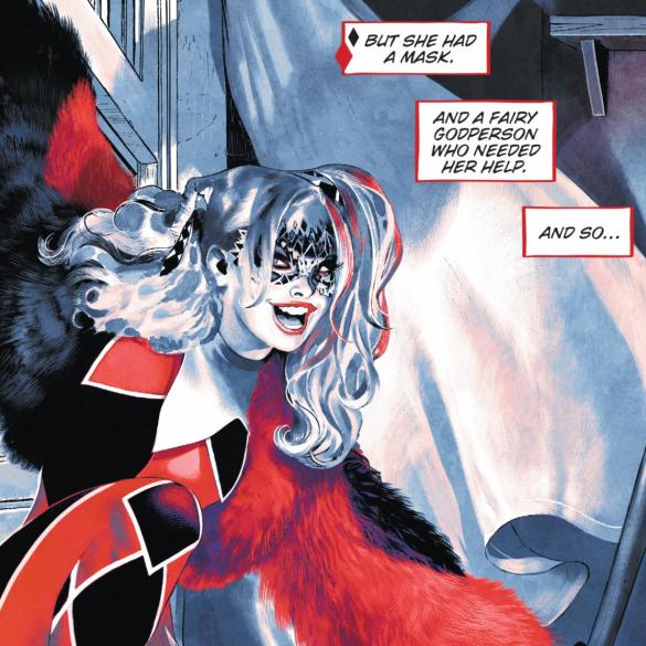 Harley Quinn: Breaking Glass, Page 150. DC Comics 2019.