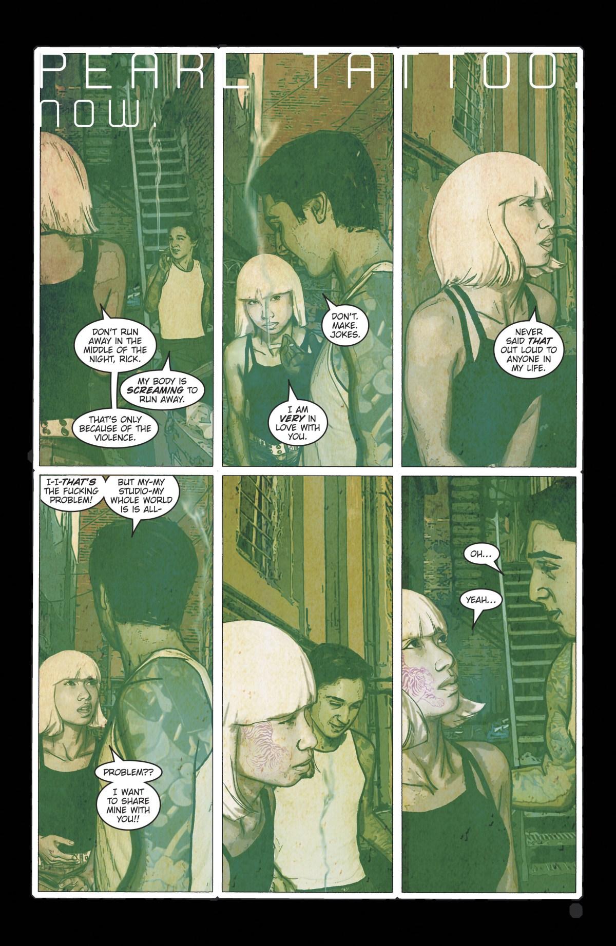 Pearl and Rick talk
