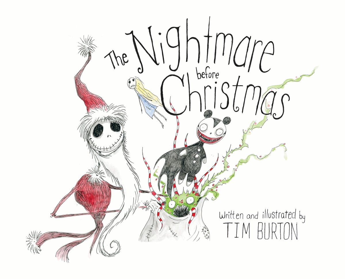 The Nightmare Before Christmas, 2013 print and cover photo.