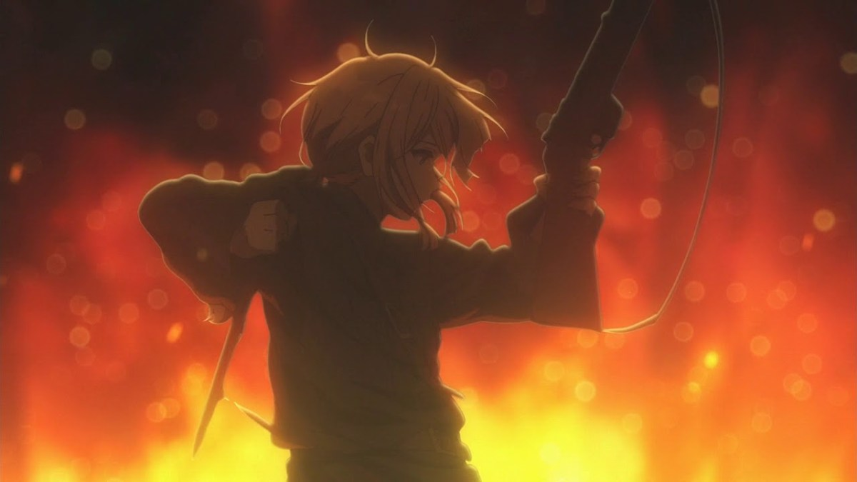 Violet Evergarden is directed by Taichi Ishidate.