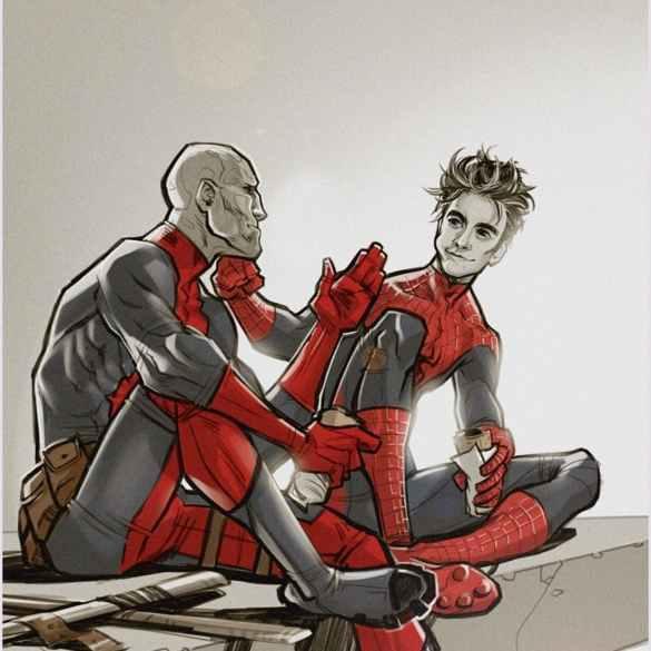 Spideypool -- Marvel Fanfiction