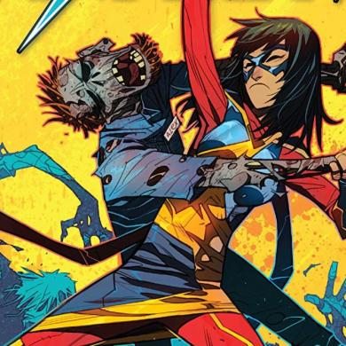 The Magnificent Ms Marvel #7: Kamala fights off zombies.