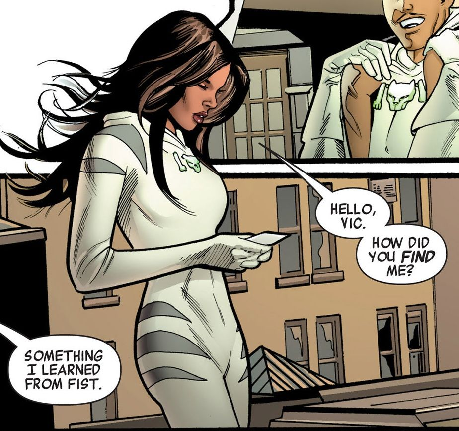 Ava Ayala as White Tiger for Marvel Comics.