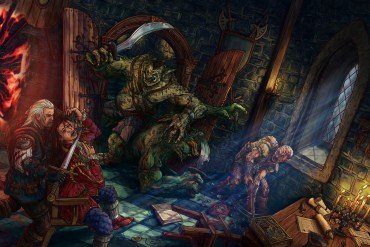 Geralt puts an end to Sorel's experiments