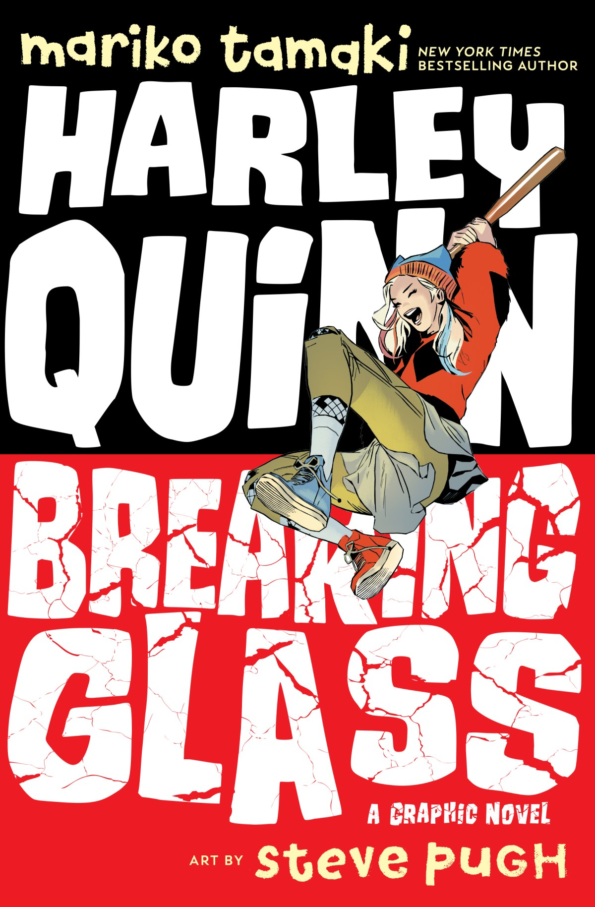 Harley Quinn: Breaking Glass Cover, DC 2019.