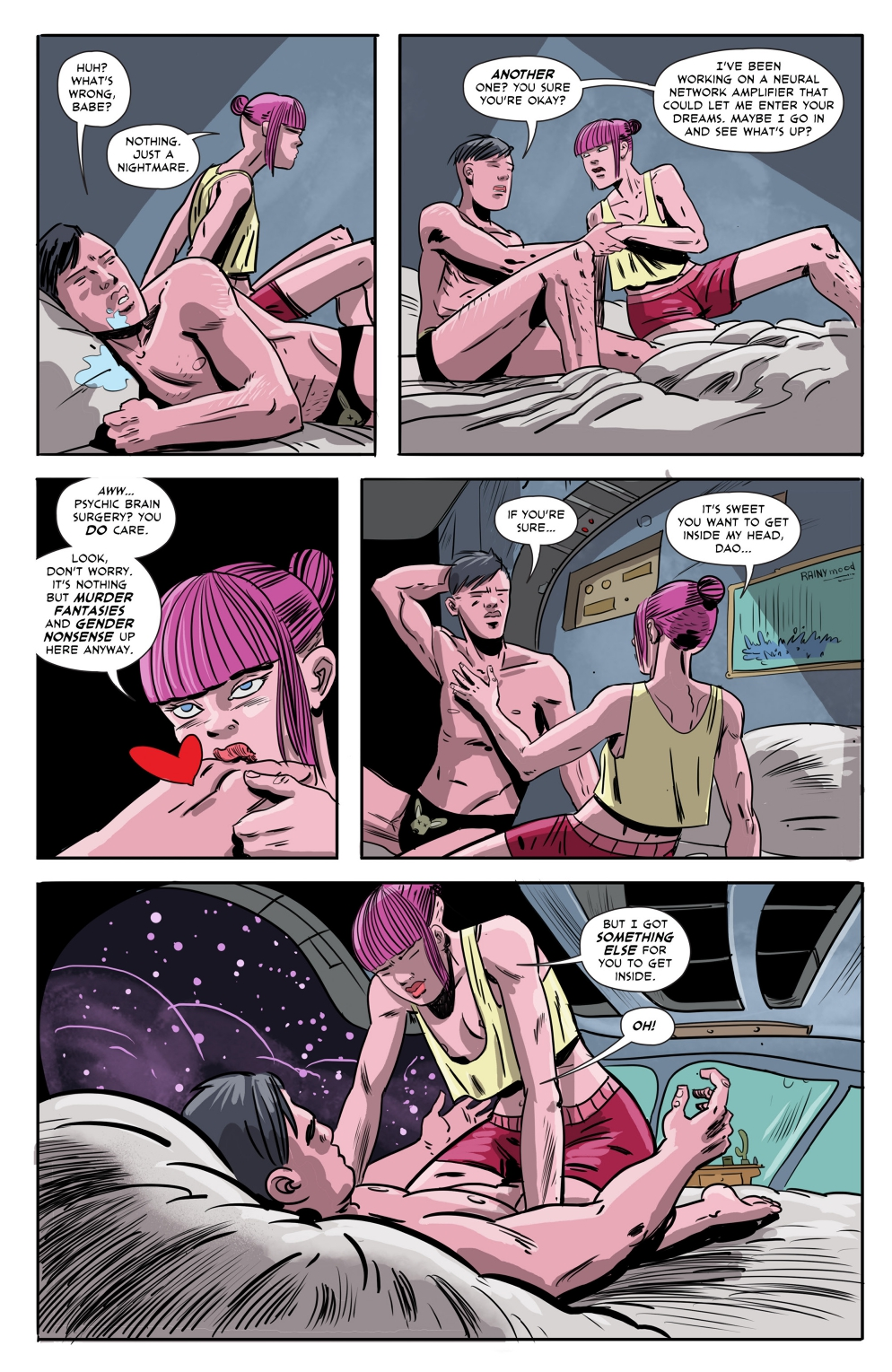 Gryffen: Galaxy's Most Wanted #7; Page 5, SBI Press.
