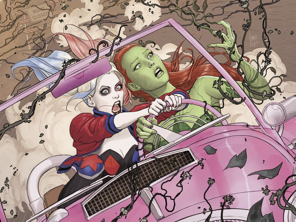 The Power Of The Green Is Shifting In Harley Quinn And Poison Ivy #1