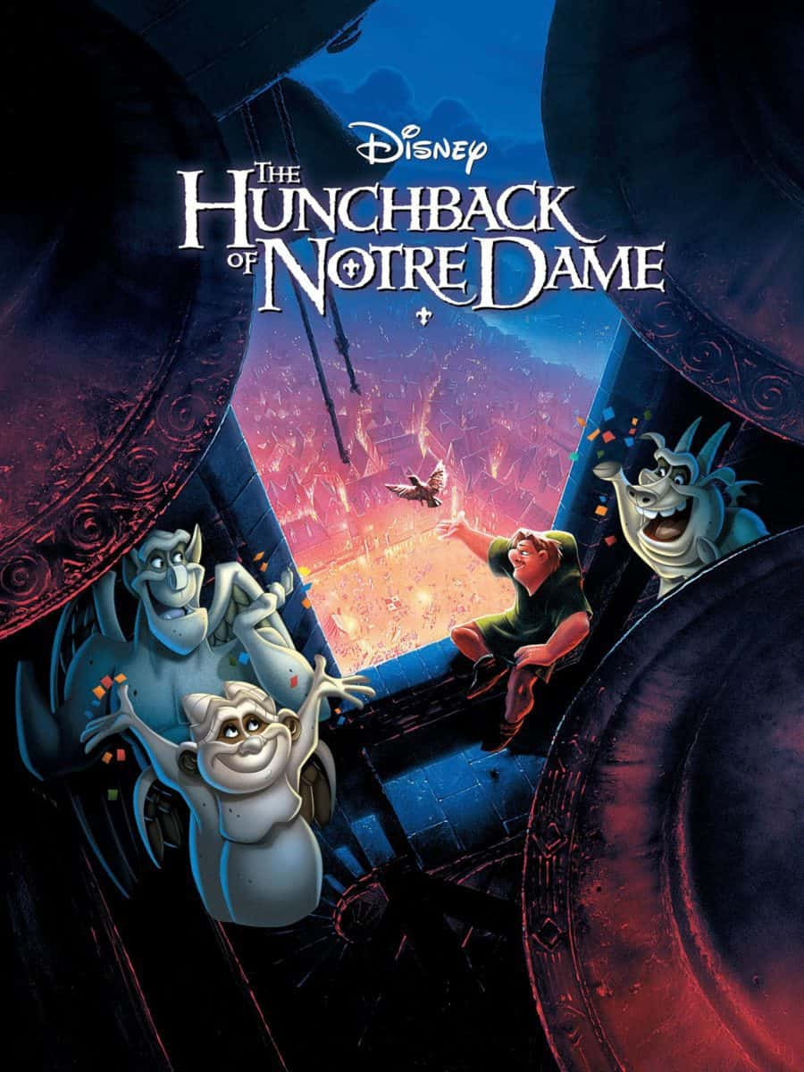 "Cover photo of the millennials underrated film ""The Hunchback of Notredame."""