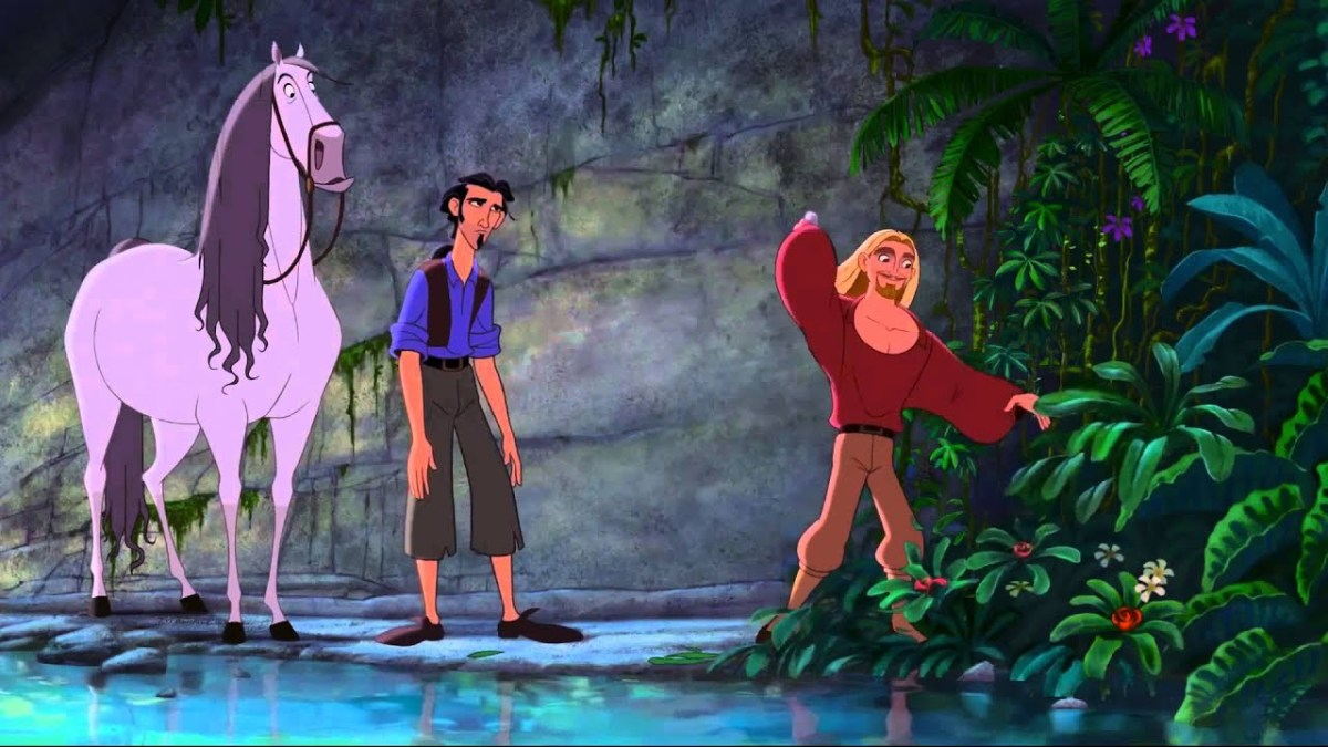 "Miguel, Tulio and Altivo from the millennials underrated film ""El Dorado."""