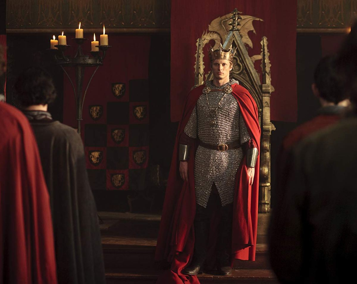 Arthur Pendragon is crowned king of Camelot