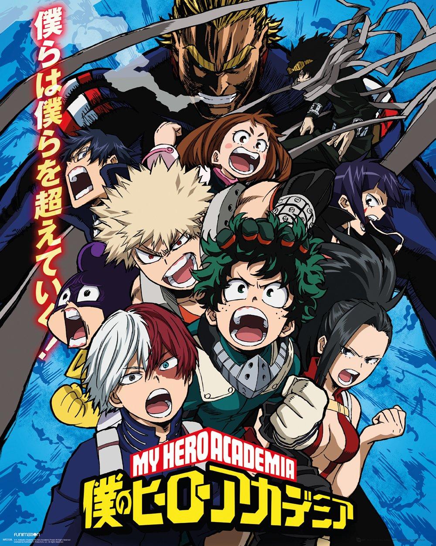 My Hero Academia / Kohei Horikoshi, Viz Media.