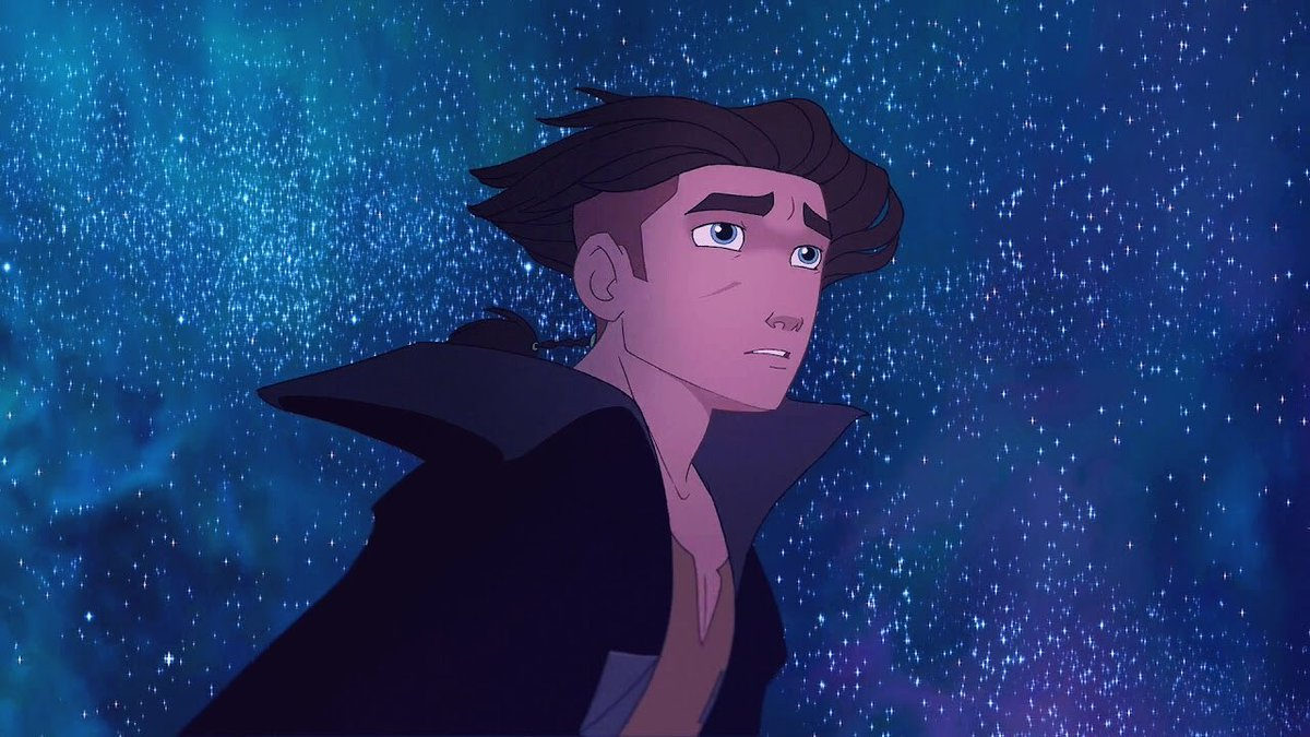 "Jim Hawkins from the underrated millennials film ""Treasure Planet."""