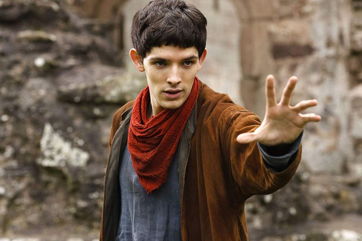 Merthur: The young warlock Merlin demonstrates his powers in BBC's Merlin