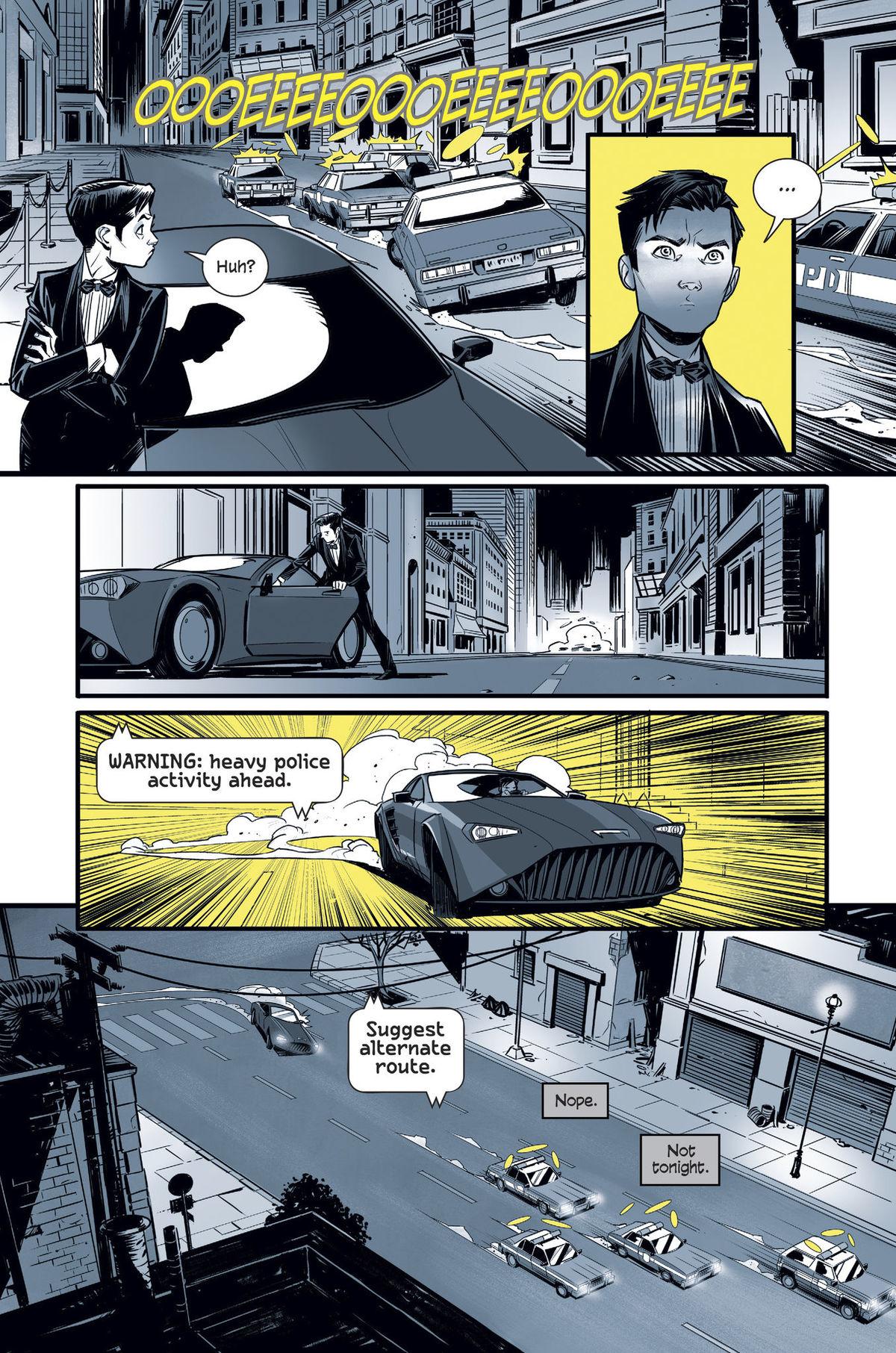 Bruce Wayne in Batman by DC (2019).
