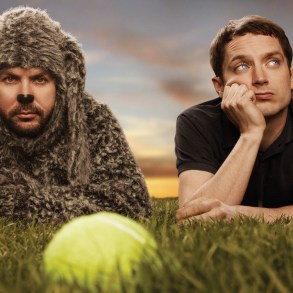 The promotional picture for Wilfred.