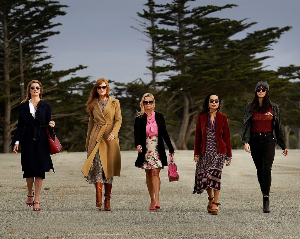 Determining the killer in Big Little Lies.