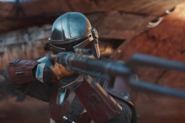 Screenshot of Mandalorian cover image on Disney+