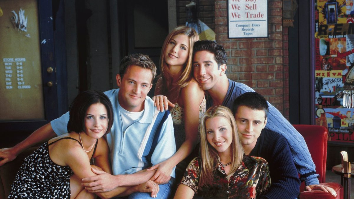The group of Friends from Friends. Moving from Netflix to WarnerBrothers new streaming service, HBO Max.