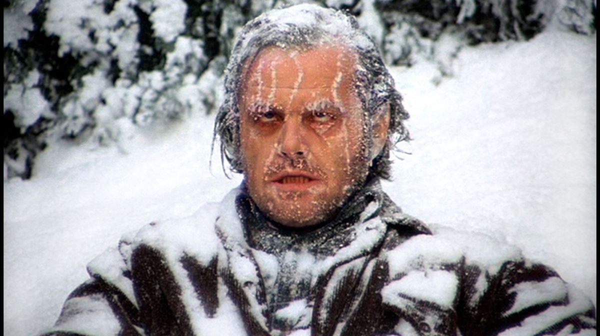 Jack Torrence freezes in this non-traditional Christmas movie.