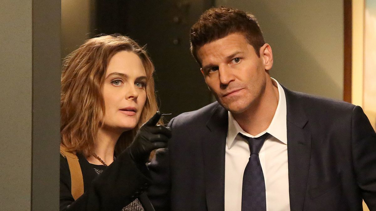 Both main characters in an episode of the television series.