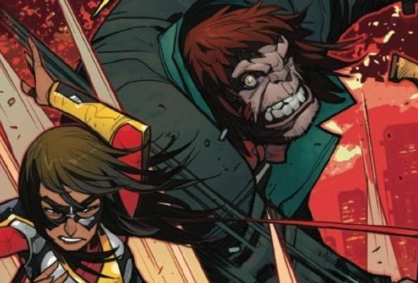 The Magnificent Ms Marvel #10