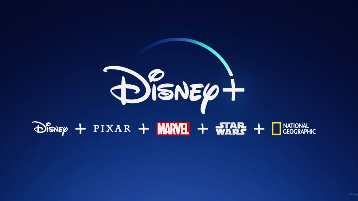 The new streaming service, Disney+