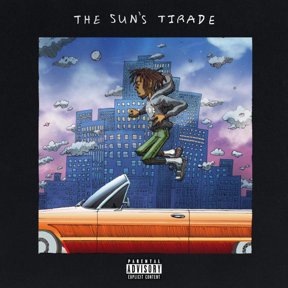 """""""The Sun's Tirade"""" Album Cover, TDE (2019)"""