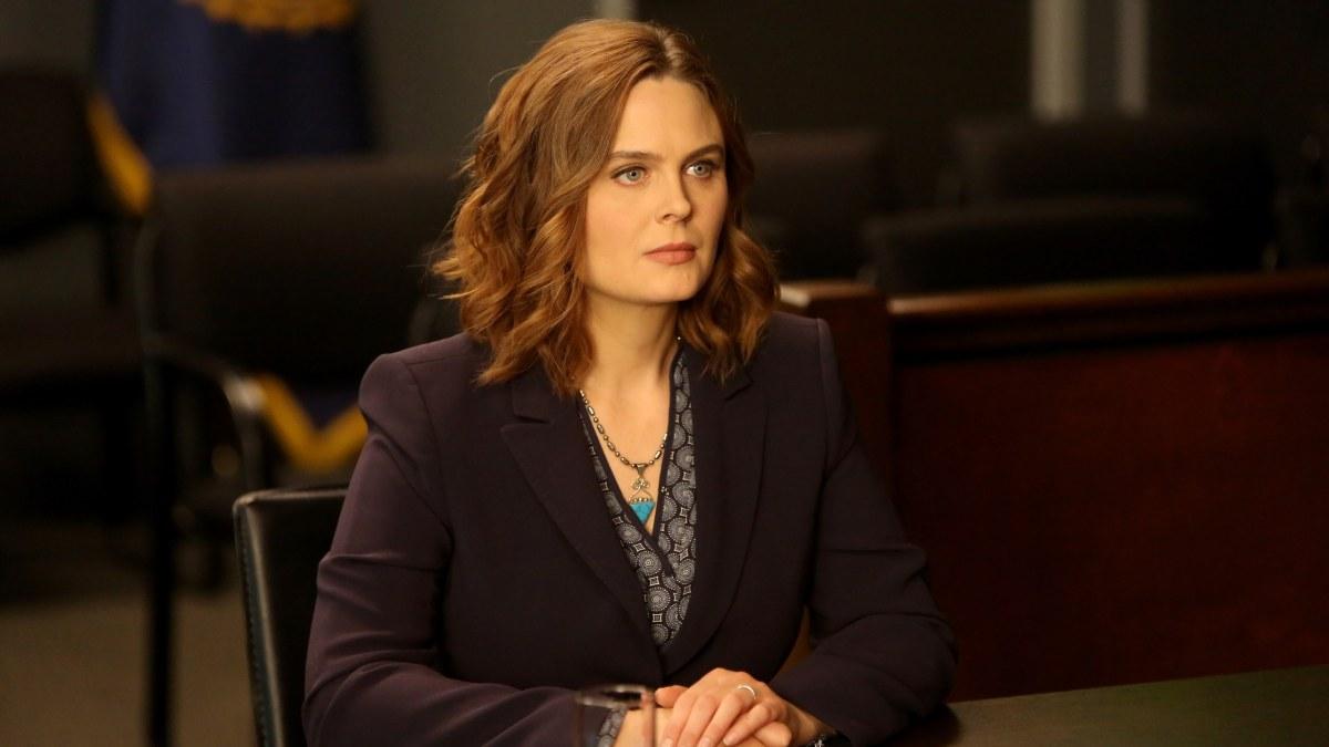 "Temperance ""Bones"" Brennan in her television show."