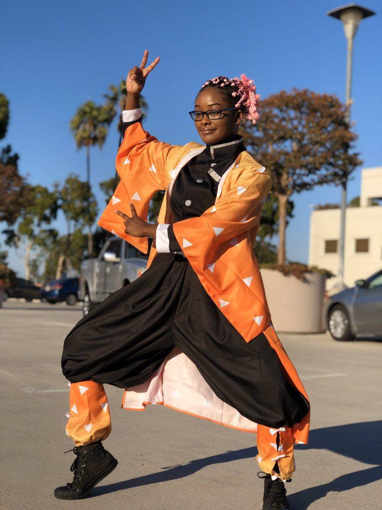Black female cosplay