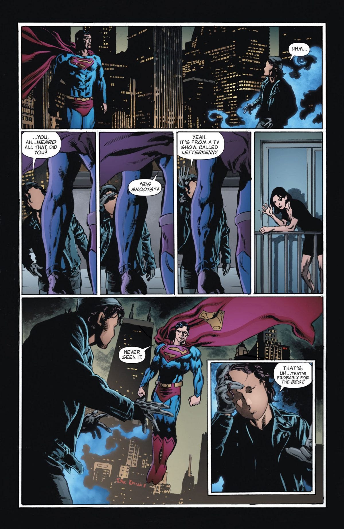 Renee meets Superman