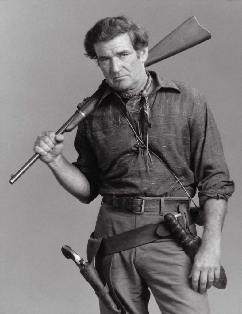 Rod Taylor in The Oregon Trail, noted 70s show flop