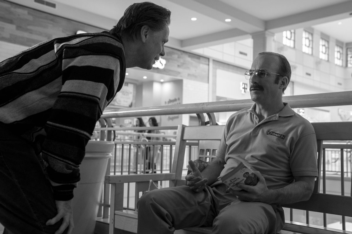 Cinnabon manager Gene is confronted by a man who knows his real identity.