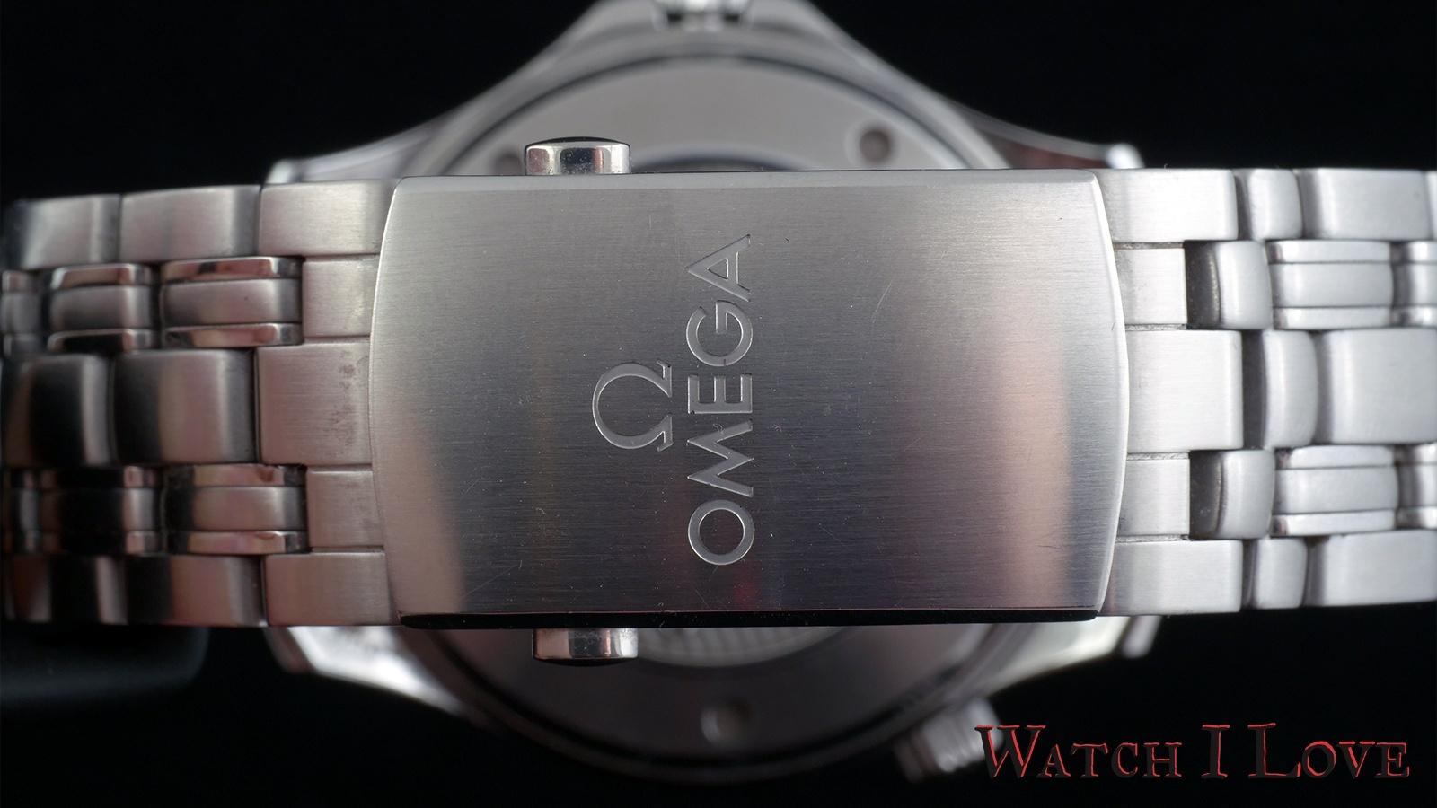 Omega Seamaster Professional folding clasp