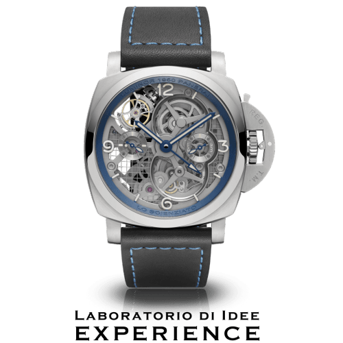 LO SCIENZIATO - LUMINOR 1950 TOURBILLON GMT TITANIO - 47MM