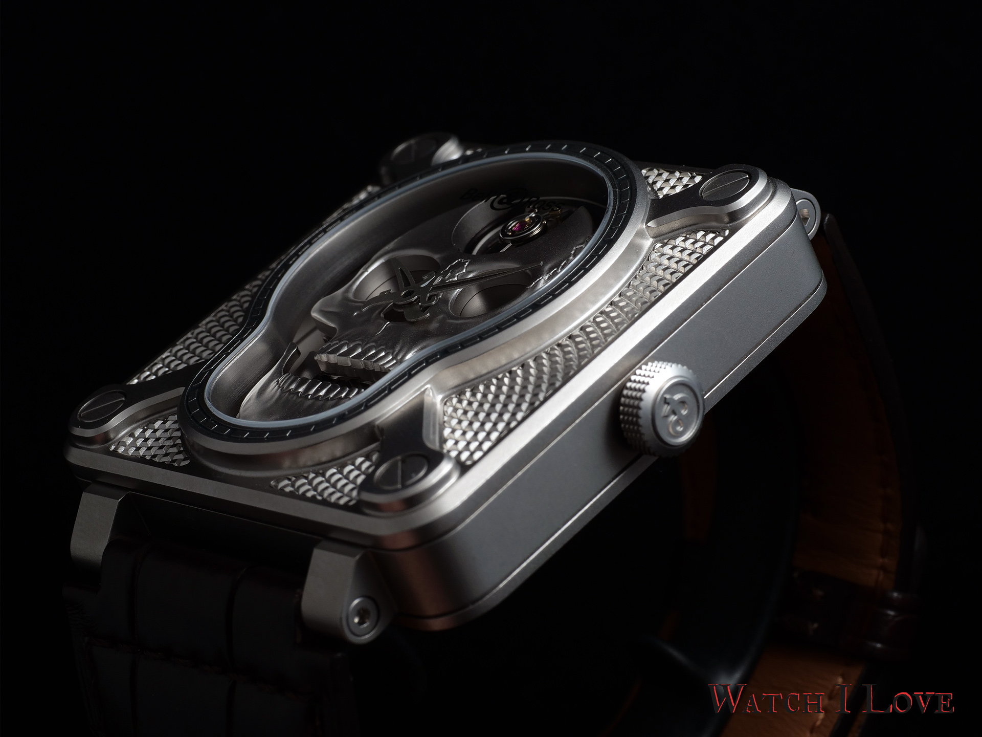 Bell&Ross BR01 Laughing Skull