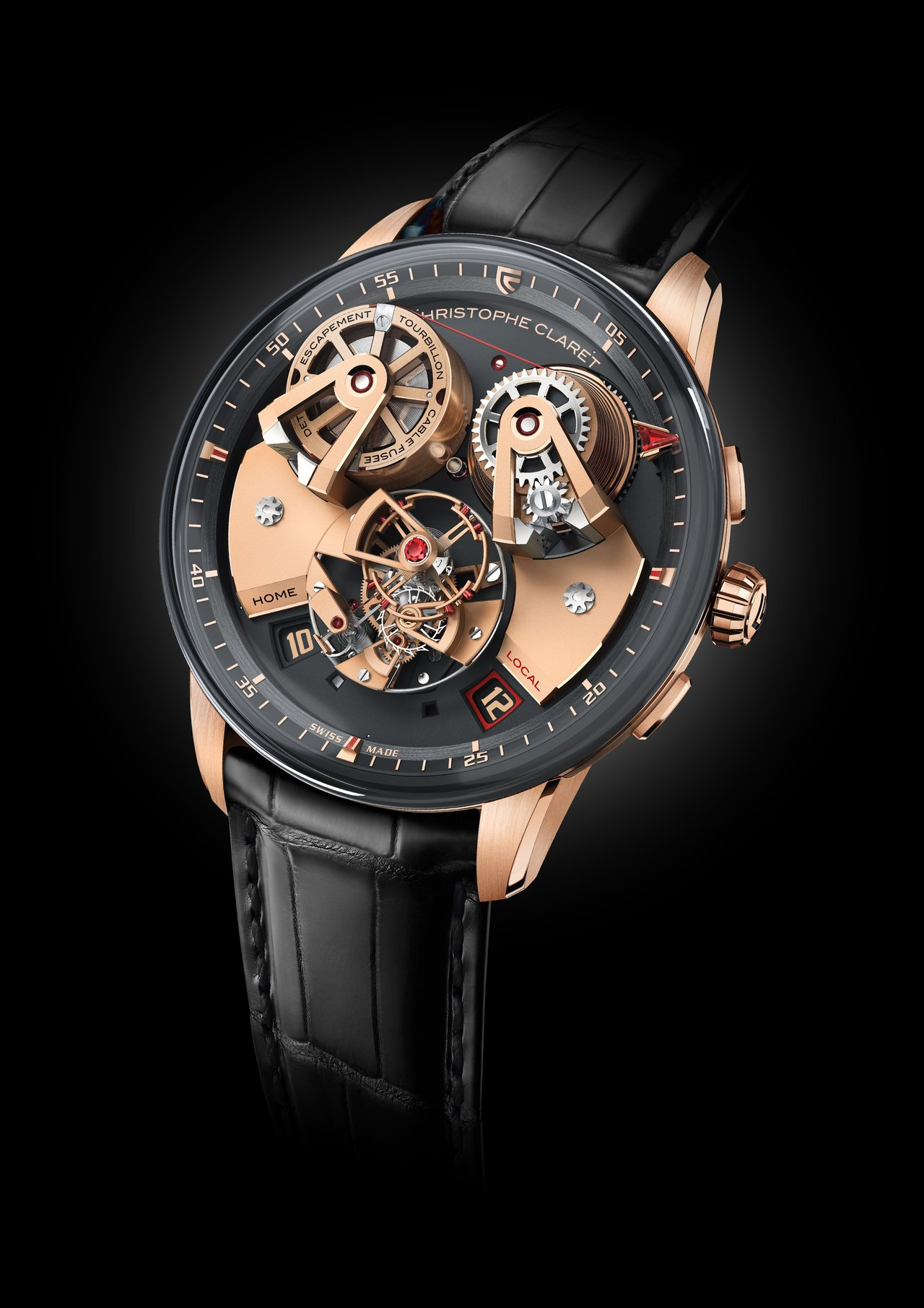 Christophe Claret Angelico red gold soldat