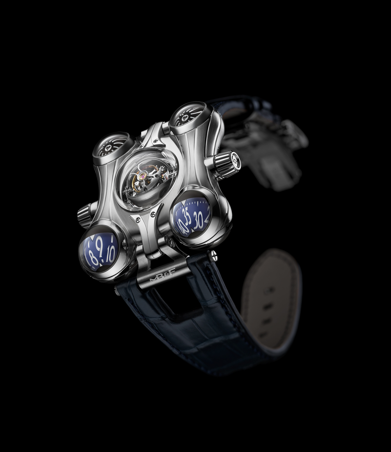 MB&F Horological Machine No.6 Final Edition open