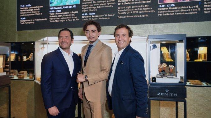 ZENITH Mr Julien Tornare, Mr Yang Shuo Mr. Jose Maria López Inchaurbe