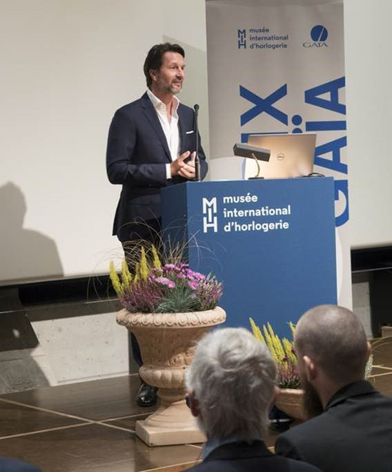Maximilian Büsser was awarded the GAÏA PRIZE