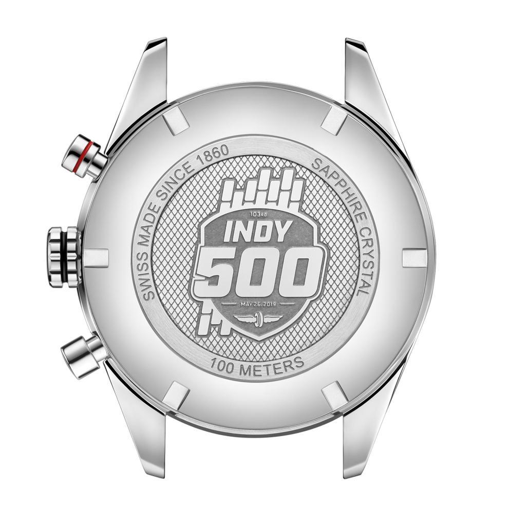 TAG Heuer Carerera Calibre 16 Special Edition Indy 500 caseback