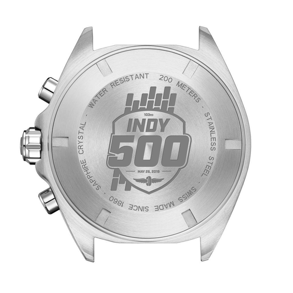 TAG Heuer Formula 1 Special Edition Indy 500 caseback