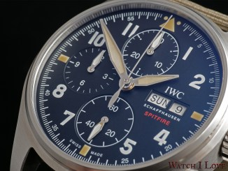 IWC Pilot's Watch Chronograph Spitfire Ref. IW387901 dial