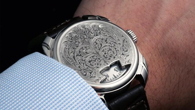 R. Baptiste Royal on the wrist