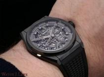 Zenith Defy Classic Ceramic black on the wrist