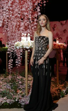 Amanda Seyfried at Jaeger-LeCoultre charity gala dinner