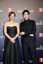 Chief Executive Officer of Jaeger-LeCoultre Catherine Rénier and friend of the maison Jing Boran