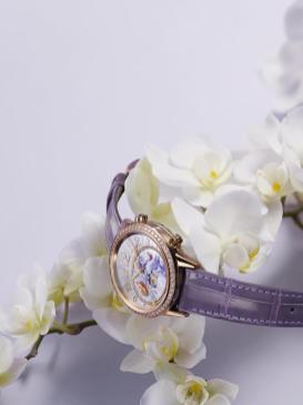 Jaeger-LeCoultre Rendez-Vous Sonatina purple orchid