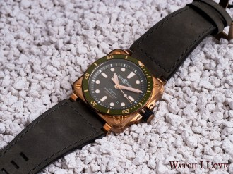 Bell&Ross BR03-92 Green Bronze Diver