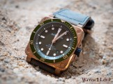 The Bell & Ross BR03-92 Green Bronze Diver was for a very short period of time (10 minutes) a part of the Museum exposition